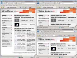 Virtual Server Administration Web site