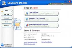 PC Tools Spyware Doctor 3.2