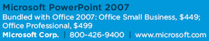 Microsoft PowerPoint 2007