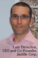 Luis Derechin, CEO and Co-Founder, JackBe Corp.