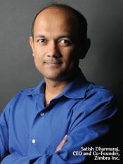 Satish Dharmaraj, CEO and Co-Founder, Zimra Inc.