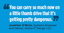 Jonathan O'Brien, Systems Engineer and Owner, Active IT Design LLC