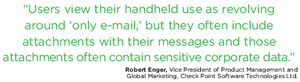 Robert Enger, Vice President of Product Management and Global Marketing, Check Point Software Technologies Ltd.