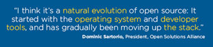 Dominic Sartorio, President, Open Solutions Alliance