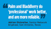 Adrian Dickreiter, Senior Network Engineer, San Antonio, Texas