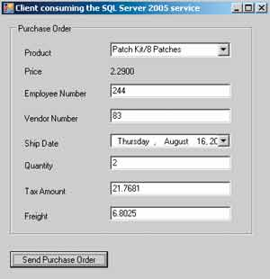 Figure 1: Build a Purchase Order.