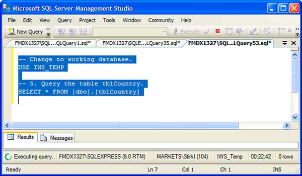 Identify Blocked  SQL Processes Quickly: Figure 2 Select Records from the Table.